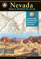 Nevada Road & Recreation Atlas, Benchmark Atlas, hunting, hiking, Nevada Atlas