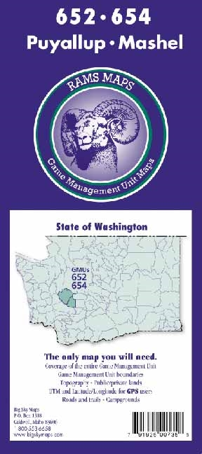 Puyallup/Mashel GMU Map