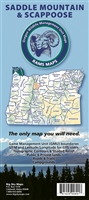 Saddle Mountain/Scappoose GMU Map
