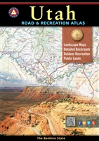 Utah, Utah Road & Recreation Atlas, Benchmark Atlas, Utah Atlas, Utah hunting, Utah hiking, hiking, hunting, recreation, Camping, Cabins, RV, Fishing spots and available species, Hunting regions and units