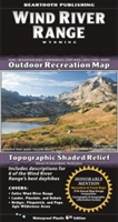 Hiking, ATV, Horseback, Fish, Hunt, Wind River Range, Hiking Maps, Topographic, Waterproof, Shaded Relief, Day Hikes, Campgrounds