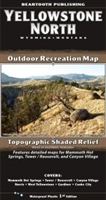 Yellowstone North Outdoor Recreation Map