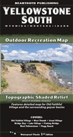 Yellowstone South Outdoor Recreation Map