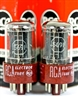 World's Best NOS 5691/6SL7 RCA Red Base Dual Triode Perfect Matched Pair