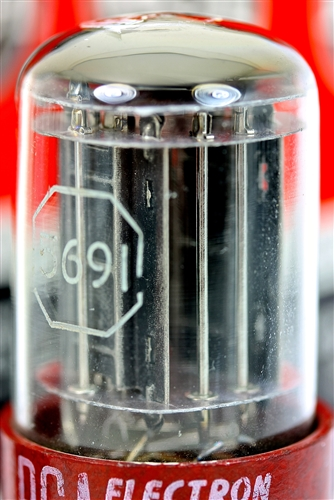 World's Best NOS 5691/6SL7 RCA Red Base Dual Triode Perfect
