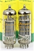 E182CC / CV2293 / 7119 Dual Triode Made in Holland Matched Pair 1961-62