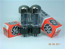6CA7 EL34 GE MATCHED PAIR for Fender Marshall Boogie