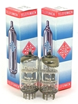 NOS 1961 Telefunken 12AT7 ECC81 CODE-MATCHED 45° GETTER DIAMOND AMPLITREX TESTED