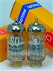 PHILIPS MINIWATT AMPEREX SQ 6922 E88CC TUBES Platinum Low Noise Match Pair