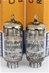 NOS SIEMENS 12AT7 ECC81 THE BEST MATCHED PAIR