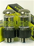 SYLVANIA NOS 6SN7-GTB Perfect Platinum Matched Pair Tubes