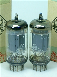Telefunken ECC82 12AU7 low-noise perfect pair