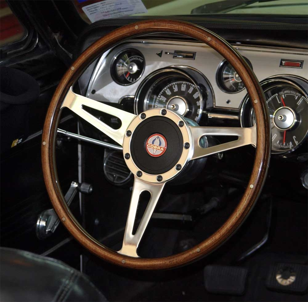 Shelby Moto Lita Cobra Steering Wheel