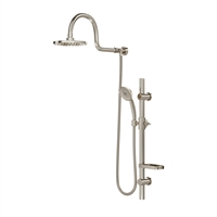 PULSE ShowerSpas 1019-BN Aqua Rain Shower System - Brushed Nickel