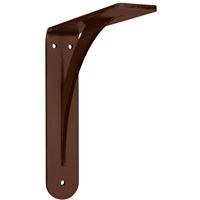 Brunswick Decorative Countertop Bracket - 12 x 12 - Steel from Federal Brace