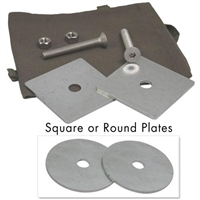 Counter Mounted Round Bearing Plate Kit