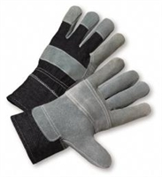 Standard Split Cowhide Patch Palm Gloves