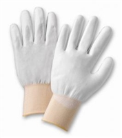 Polyurethane Coated Seamless Knit Gloves