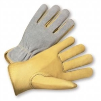 Select Grain Cowhide Palm Split Back Driver Gloves
