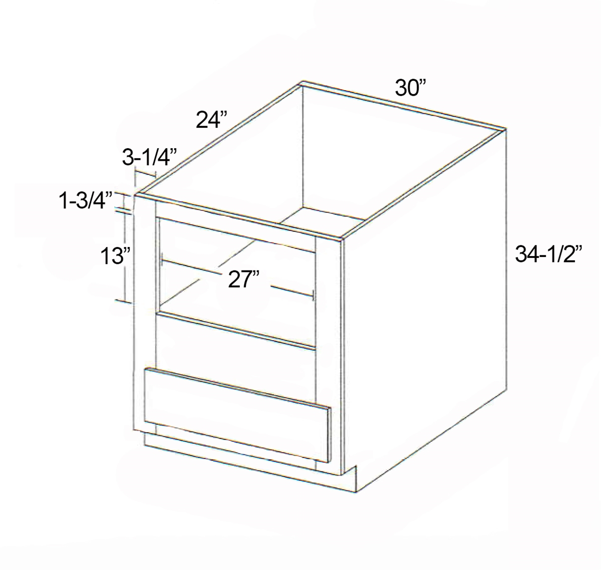 Parkview Cabinets Sfs Bmc30