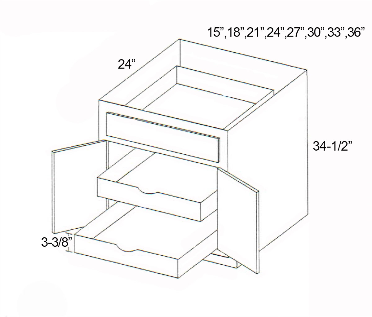 Parkview Cabinets Sfs Bps27