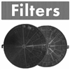 ZLINE 1 Set of 2 Charcoal Filters for Range Hoods with Recirculating Option