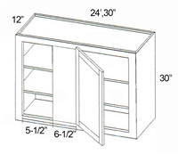 Parkview Cabinets SFCCW3030