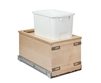 "Century Components Edge Series 11"" Bottom Mount Waste System - 34 qt. Bin"