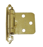 Self Closing Bright Brass Cabinet Hinge