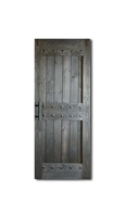 "HRC 36"" x 84"" Double Castle Style Barn Door 