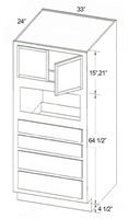 Parkview Cabinets SFD MOC3384
