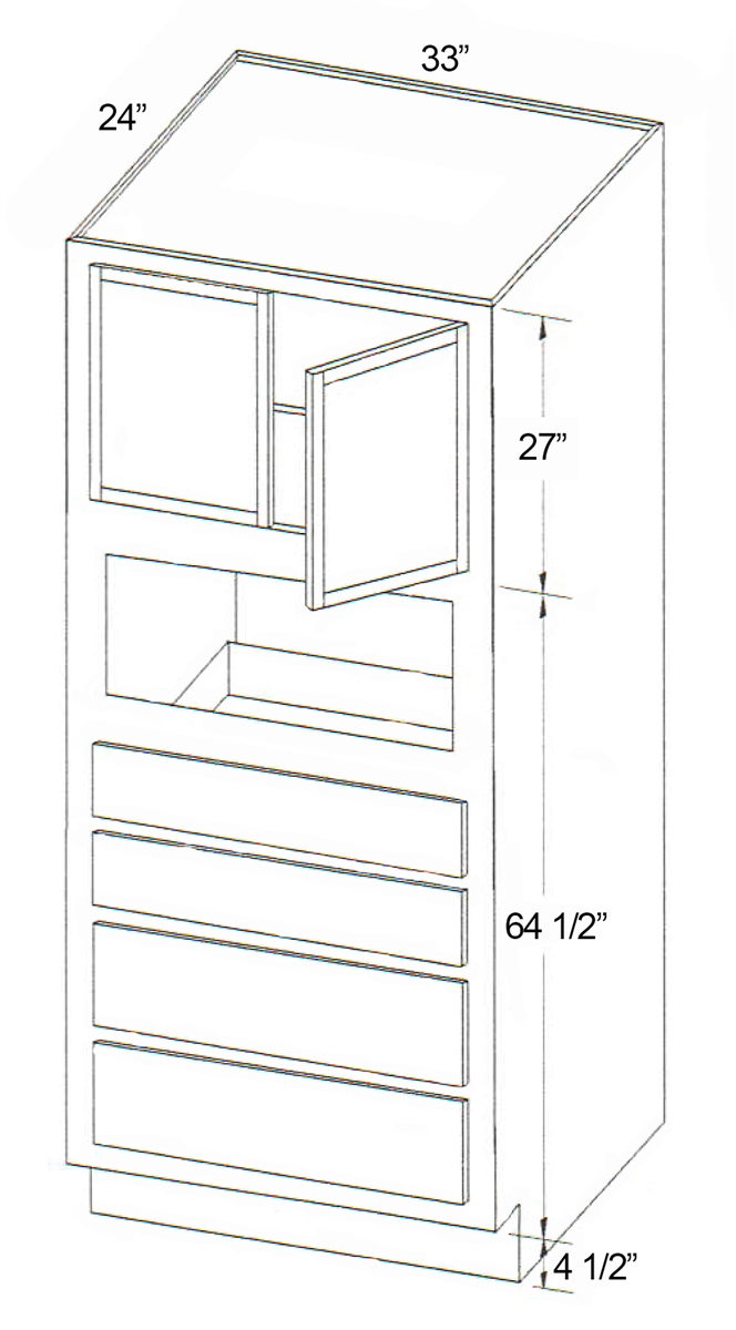 Parkview Cabinets Sfs Moc3396