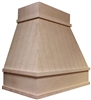 HAC Shiplap Plank True Taper Chimney Hood