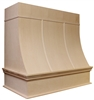 HAC Partial Radius Chimney Hood