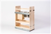 "Century Components 10-3/8"" Canister Pull-Out Organizer with Knife Block Insert"