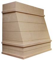 HAC Shiplap Partial Taper Chimney Hood