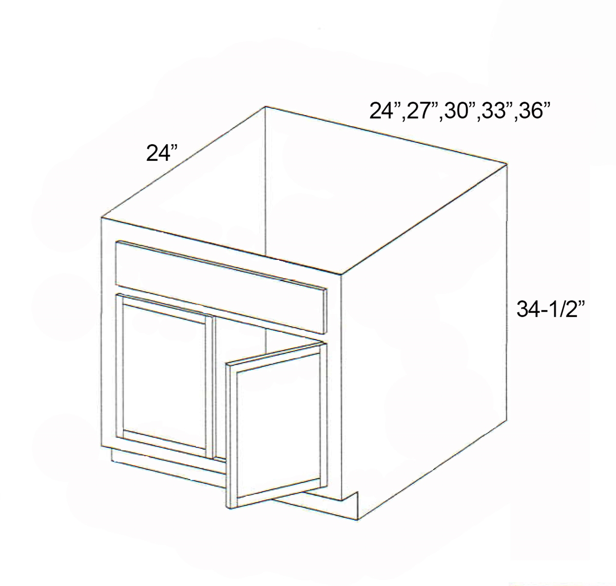 Parkview Cabinets Sfs Srb30