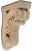 Hand Carved Acanthus Bar Bracket - From Hardware and Molding