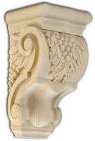 Grapevine Corbel - From Hardware and Molding