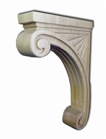 Fluted Countertop Support - Remodel Market
