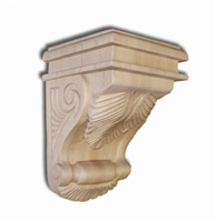 Acanthus Leaf Corbel - From Hardware and Molding's Remodel Market