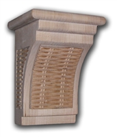 Tropical Wicker Bar Bracket Corbel from Castlewood