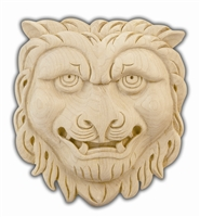 Red Oak Lion Rosette - Remodel Market