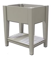 Castlewood SY-VTL Tapered Vanity Base with Ventilated Shelving