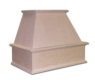 Castlewood Traditional Chimney Range Hood (Without Chimney Extension)
