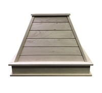 Castlewood SY-WCSLH Shiplap Chimney Range Hood (Without Chimney Extension)