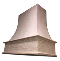 Castlewood Curved Epicurean Chimney Range Hood with Removable Upper Access