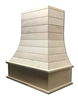 Castlewood SY-WCVHSL Shiplap Curved Epicurean Chimney Hood