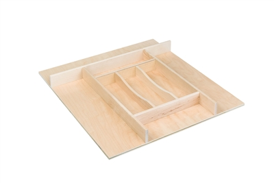 "Century Components 20"" Trimmable Silverware Tray Insert"