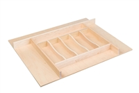 "Century Components 26"" Trimmable Silverware Tray Insert"